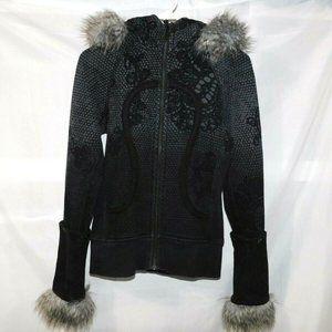 Lululemon Ltd Ed orbit Detachable Fur Trim Scuba 4